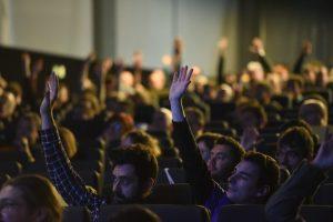 Asistentes en WordCamp Madrid