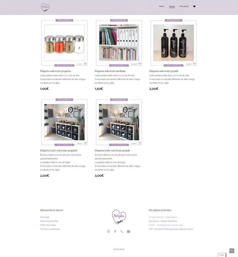 114. Creando una tienda online de pegatinas y sufriendo con actualizaciones.